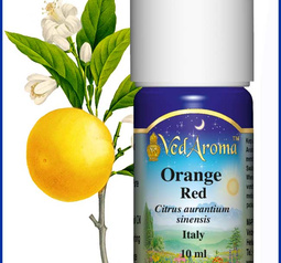 Orange, red Essential Oil org.