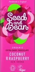 Choklad Mörk 66% kokos & hallon