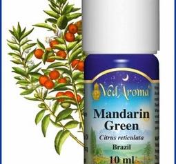 Mandarin green aromaolja eko.