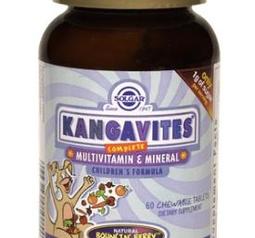 Kangavites- multivitamin och mineral tabletter för barn