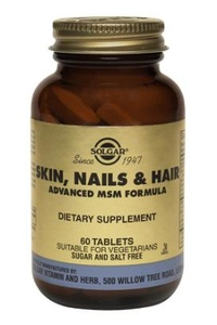 Solgar® Skin, Nails and Hair Formula 60 Tablets