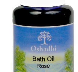 Rose Bath & Shower Oil org.