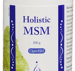 MSM från Holistic