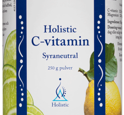 Holistic C-vitamin Syraneutral 250 g