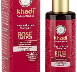 Rose Hair Repair Ayurvedic Shampoo, 210 ml