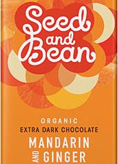 Choklad mörk, Mandarin & Ingefära 85g 72% kakao